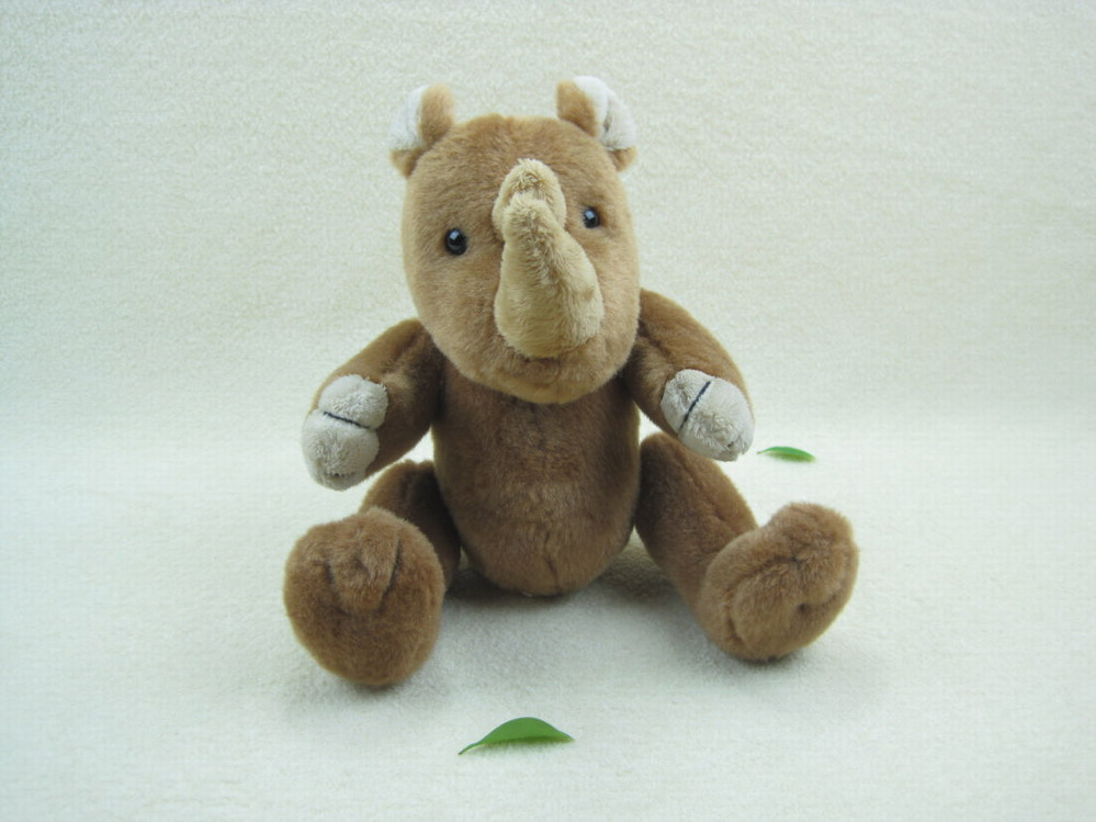 plush animal Rhinoceros