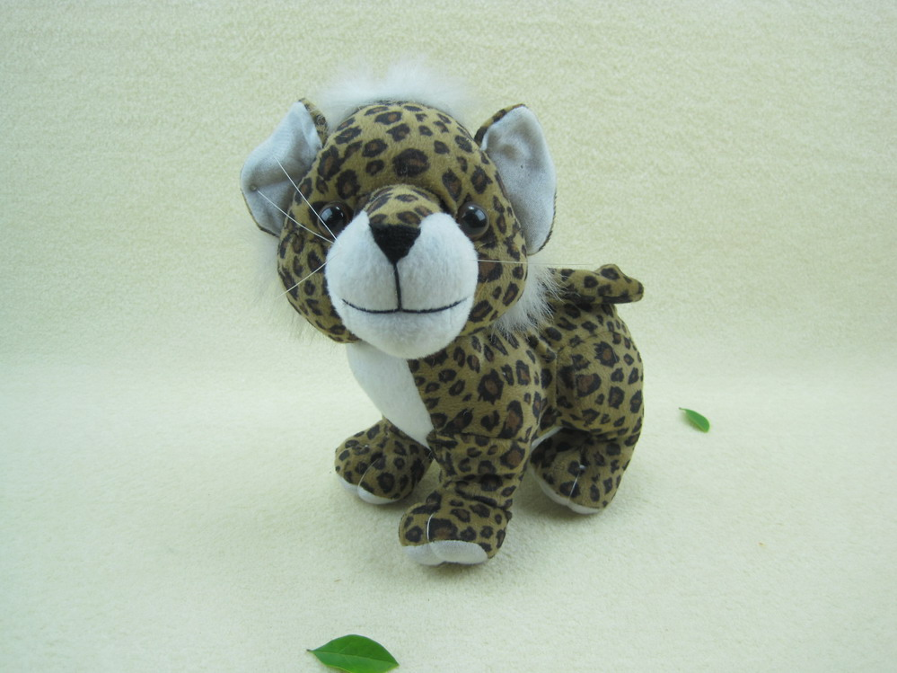 Plush animal leopard